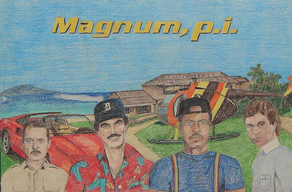Magnum, p.i. (by Clint Doyle)