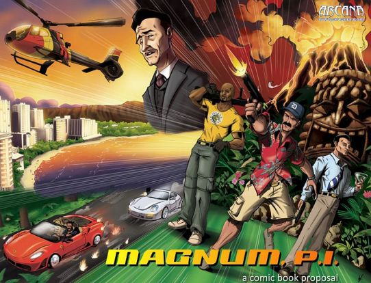 Magnum P.I. Comic Book Proposal